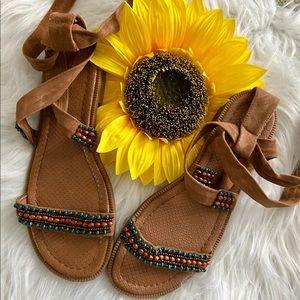 Nine West Wrap Sandal
